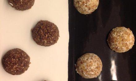 Heerlijke zoete Paleo snack: 'no bake' balletjes vol Superfoods!