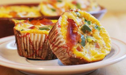 Heerlijke Paleo recept voor glutenvrije omelet muffins!