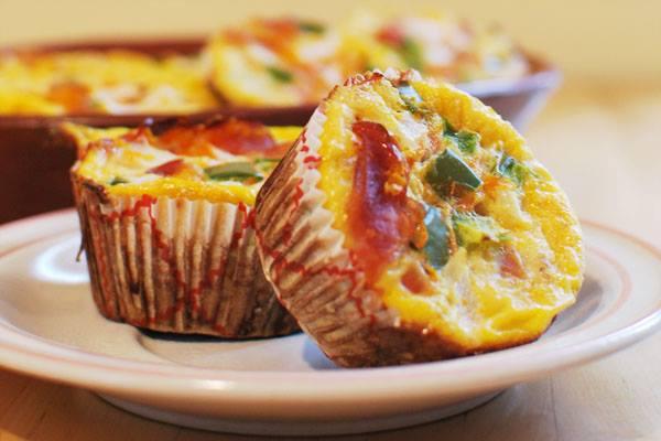 paleo recept glutenvrije omelet muffins