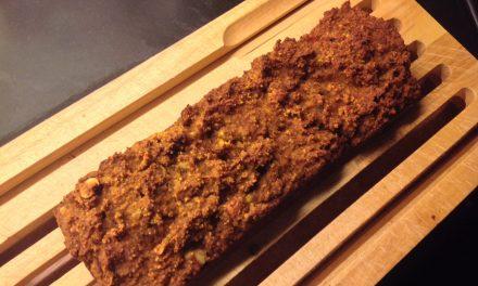 Glutenvrij suikervrij en zuivelvrij pompoenbrood