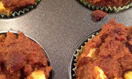 Heerlijke Paleo cake met appel/pompoen voor bij de koffie