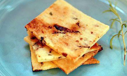 Glutenvrije crackers: Rozemarijn/vijgen crackers (paleo)