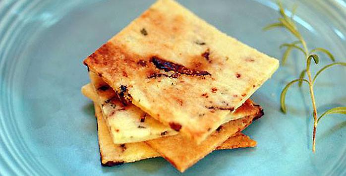 glutenvrije crackers paleo