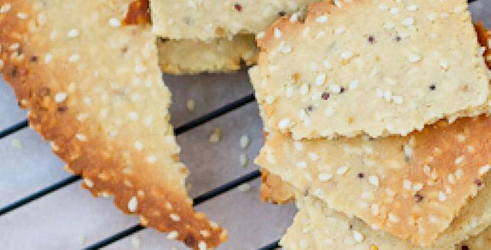paleo crackers recept
