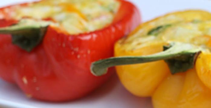 paleo recept gevulde paprika