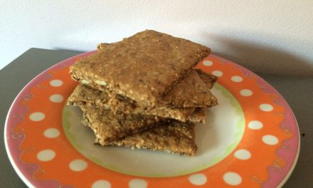 Voedzame crackers recept