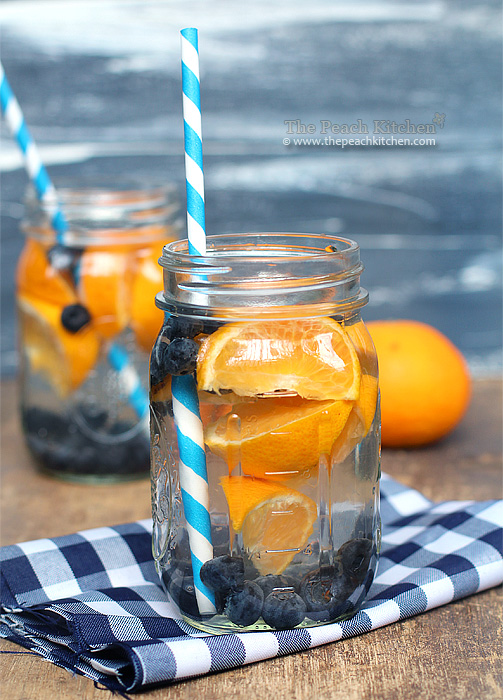 Blueberry-and-Orange-Water