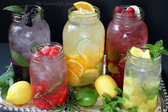 Fruitwater maken