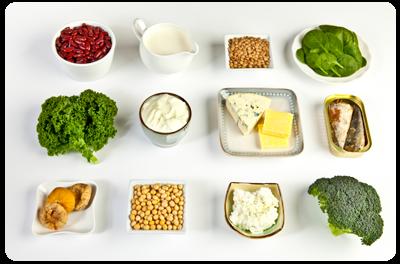 Botontkalking door…het drinken van melk! Tien gezondere calciumbronnen