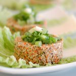 raw food, glutenvrij, lactosevrij bloemkoolburger