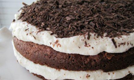 Recept: glutenvrije chocoladetaart met honing ricotta