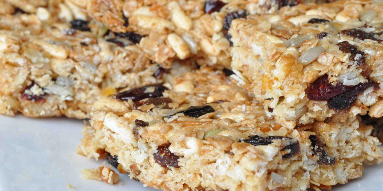 Glutenvrij ontbijt met Morgenstund, of mueslireepjes natuurlijk!