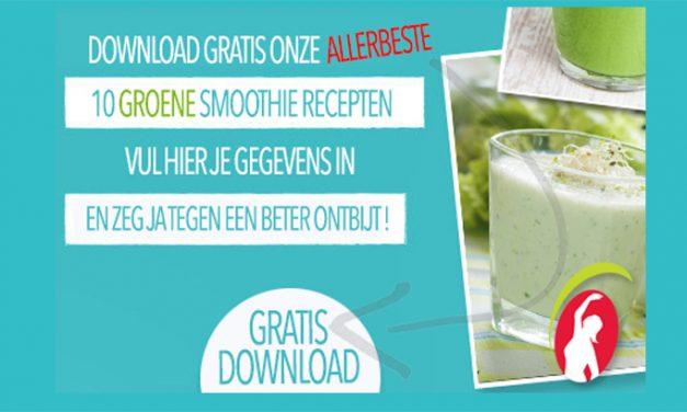 Download de 10 ALLERBESTE Groene Smoothie Recepten!