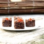 raw food paleo recept walnoot brownies