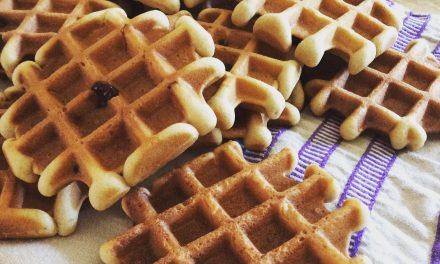 Glutenvrije recepten: zelf glutenvrije wafels maken