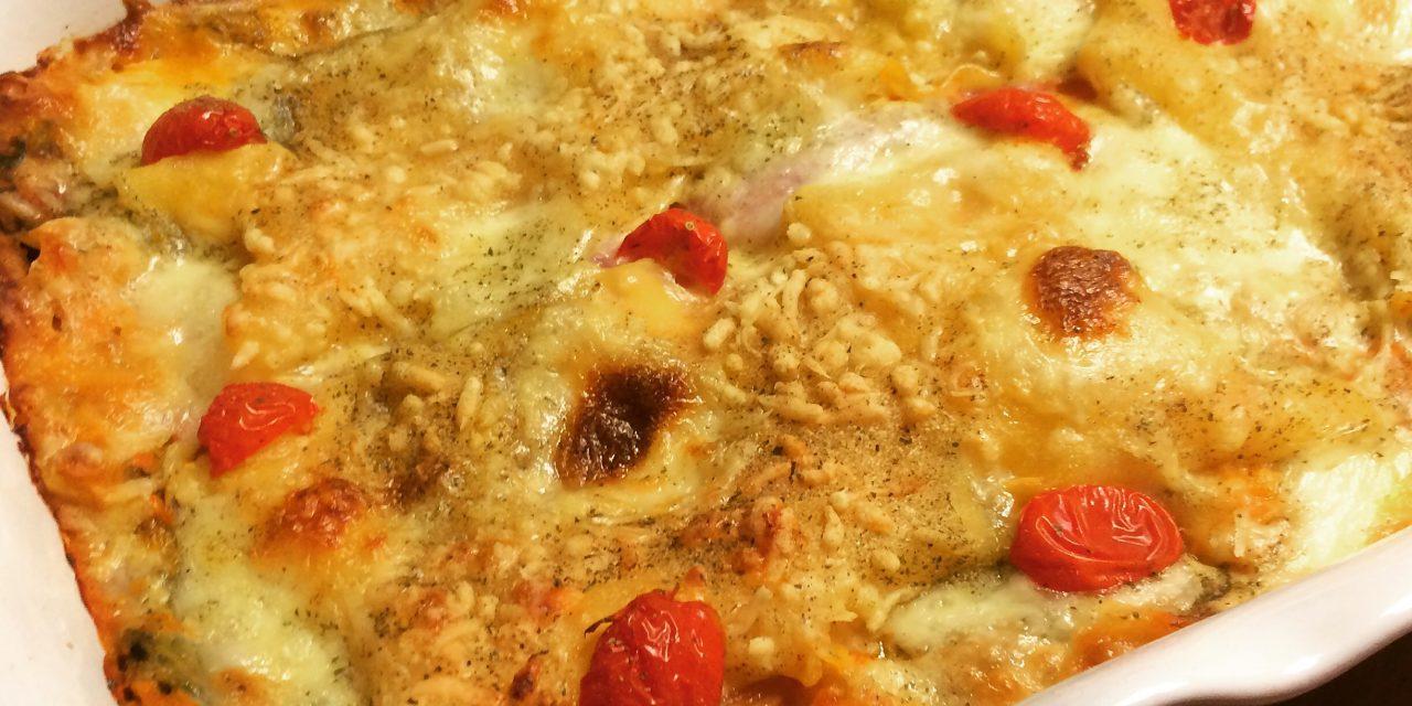 Glutenvrije lasagne: overheerlijke herfstlasagne met pompoen