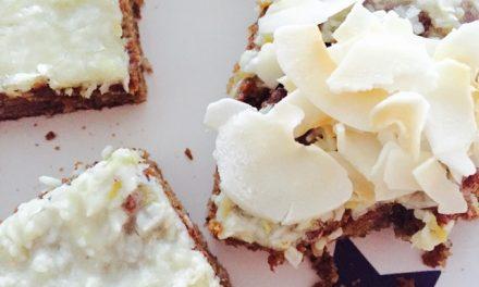 Citroen courgette kokos glutenvrije cake