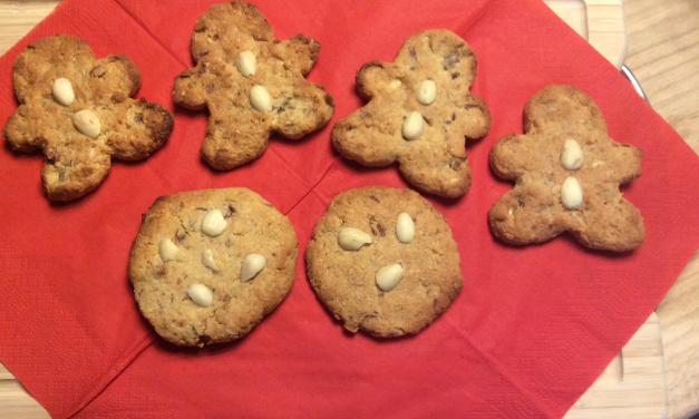 Glutenvrije koekjes: chewy Kerstkoekjes