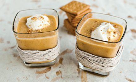 Warme smoothie met pompoen, heerlijk in de winter!