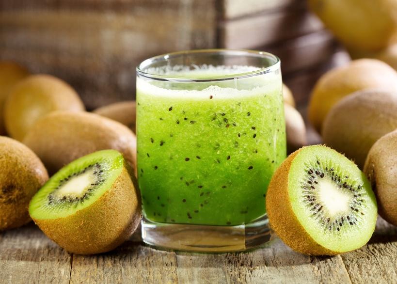 groene smoothie kiwi boerenkool