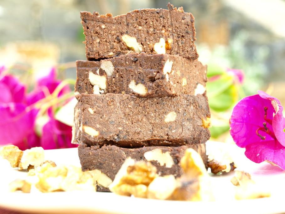 gezond brownie recept