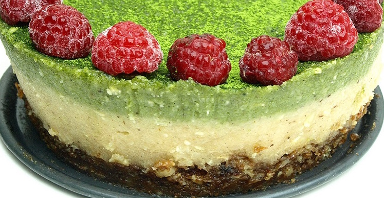 cheesecake recept vegan en raw
