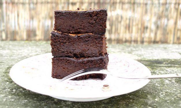 Glutenvrije suikervrije brownies recept