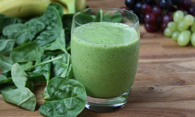 Groentesap recept met spinazie