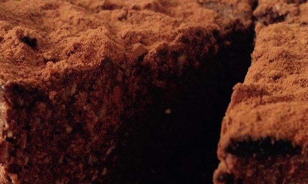 Rauwe vegan chocoladetaart recept