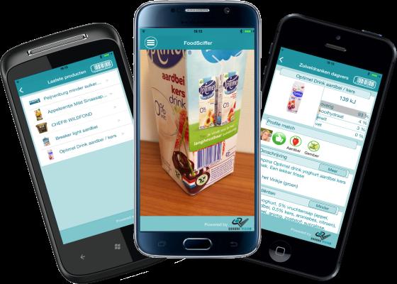 FoodSciffer schermafbeeldingen