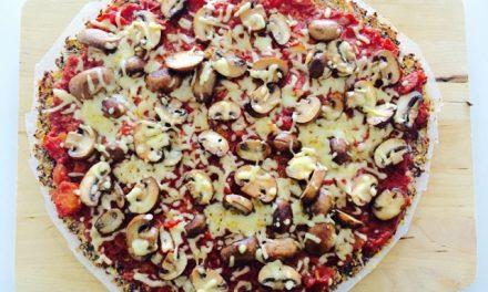 Bloemkoolpizza, lekker en gezond!