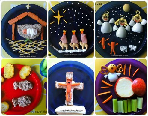 Verpakking van gerechten voor kinderen