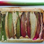Rabarber cake recept