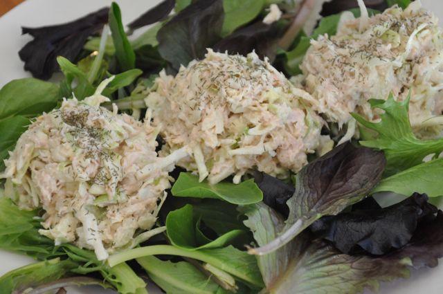 appel tonijn salade