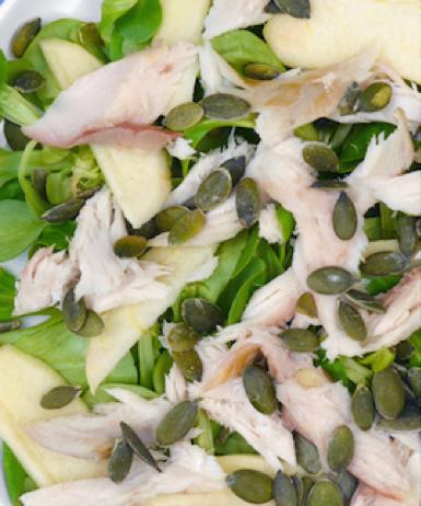 Recept voor paleo makreelsalade