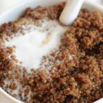 Quinoa ontbijt, voor als je eens wat anders wil.