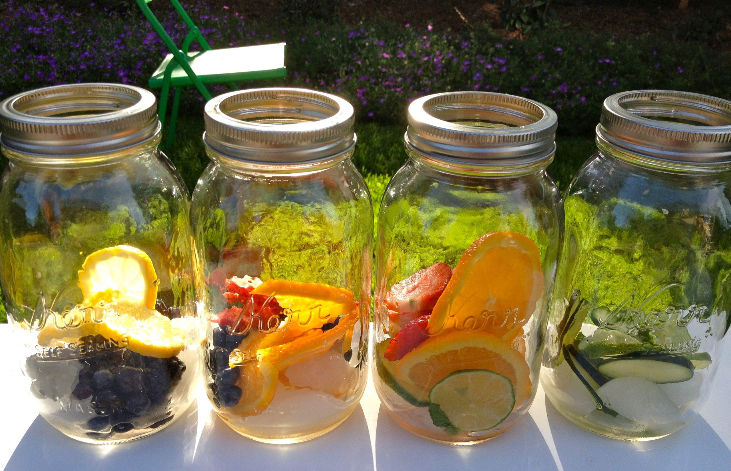 water met fruit recept