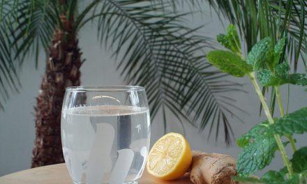 Gember citroen detox sapje