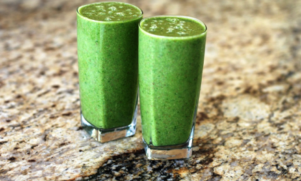 Peer en komkommer smoothie ter verhoging energieniveau