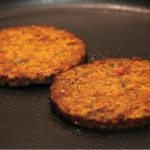 Quinoa burger, glutenvrij en vegetarisch