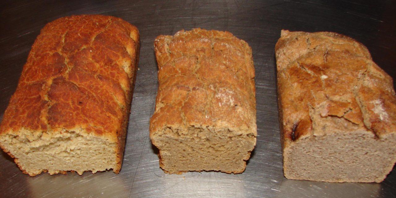 Drie glutenvrije broodrecepten (knoflookbrood, Italiaans en paleo brood)