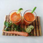 Groentesap met wortel en biet
